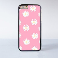 Cute Pink Daisy Collection  Plastic Case Cover for Apple iPhone 4 4s 5 5s 5c 6 6s Plus