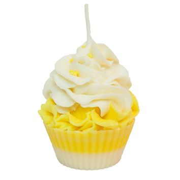 Lemon Squeezin Scented Cupcake Candle
