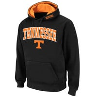 Tennessee Volunteers Colosseum Arch & Logo Pullover Hoodie - Black