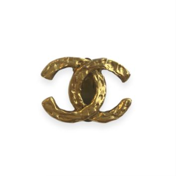 Chanel Vintage Clip On Earring Stud