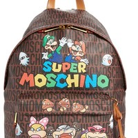 Moschino 'Nintendo Super Mario Bros.®' Backpack | Nordstrom