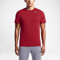 Nike Dri-FIT Touch Heathered Short-Sleeve Men's Training Shirt