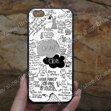 The Fault in Our Stars iphone case,phone case,galaxy S5 case,iPhone 5C 5/5S 4/4S,samsung galaxy S3/S4/S5,Personalized Phone case