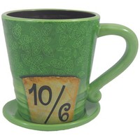 Disney Parks Alice in Wonderland Mad as a Hatter Ceramic Coffee Mug Disney Parks Exclusive Limited Availability