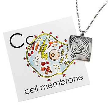 CELL MEMBRANE NECKLACE