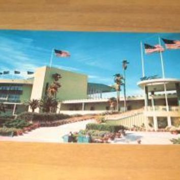 Vintage Hollywood Park Inglewood California Postcard