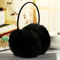 Hot Winter Warm Faux Fur Earmuff Girls Earflap Women Ear Muff Earcap Winter Clothing Accessories