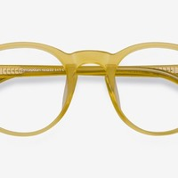 Perception | Yellow | Women Acetate Eyeglasses | EyeBuyDirect