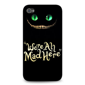 were ah mad here cover black iPhone 4 | 4S Case
