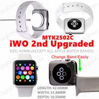 Hot Sale iWO 1:1 Upgrade Version MTK2502C 42MM New iWO 1:1 Upgraded (iWO 2nd Generation) Watch