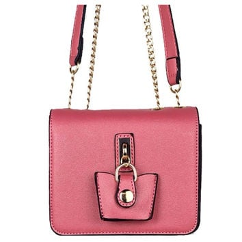 "Beautiful ""Must Have"" Pink Cross Body Bag, Purse"