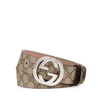Gucci Supreme Belt w/Interlocking G