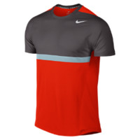 Nike Premier Rafa Men's Tennis T-Shirt - Light Crimson