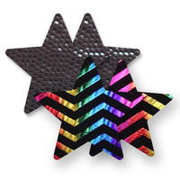 Nippies® Midnight Rainbow Star Pasties