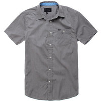 Hurley Rise Solid Short Sleeve Woven Shirt at PacSun.com