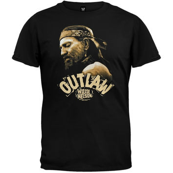 Willie Nelson - Outlaw T-Shirt