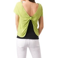Knot Back Cropped Top