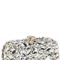 Women's Natasha Couture 'Ice Crystal' Minaudiere