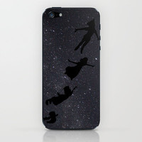 Peter Pan - Fly to Neverland  iPhone & iPod Skin by amy.