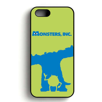 Monster Inc Sulley & Mike iPhone 5, iPhone 5s and iPhone 5S Gold case