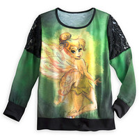 Tinker Bell Long Sleeve Top for Women