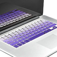 "Purple Gradient Ombre Keyboard Cover Decal Skin for Apple Macbook Macbook Pro iMac Keyboard  13"" 15"" 17"""