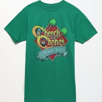 PacSun Cheech And Chong T-Shirt - Mens Tee - Green