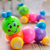 Kids Toys Colorful Caterpillar Wind-up Toys Baby Child Developmental Educational Toy