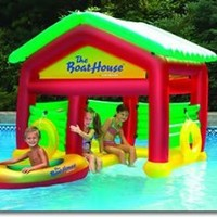 Boathouse Floating Swimming Pool Habitat