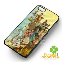 Studio Ghibli all characters -end for iPhone 4/4S/5/5S/5C/6/ 6+,samsung S3/S4/S5/S6 Regular/S6 Edge,samsung note 3/4