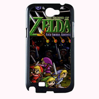 zelda war with monster 53c6f204-f963-47ff-9b23-bb939b006bed FOR SAMSUNG GALAXY NOTE 2 CASE**AP*