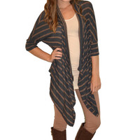 Fall Stripes Sweater   Girly Girl Boutique