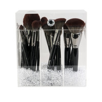 Impressions Vanity Co. | Diamond Collection Acrylic Makeup Brush Holder
