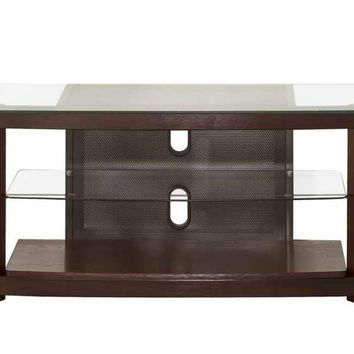 Coaster Fine Furniture Tv Console Brown 700321