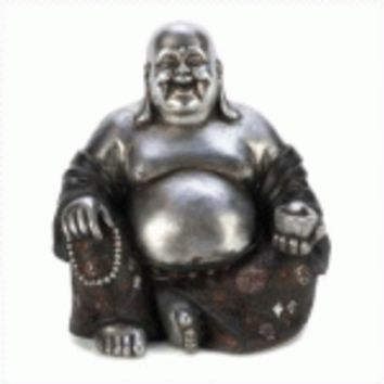 Happy Sitting Buddha Statue (pack of 1 EA)