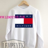 Tommy Hilfiger Sweatshirt Men And Women Unisex Men