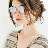 Carrie Metal Aviator Sunglasses - Urban Outfitters