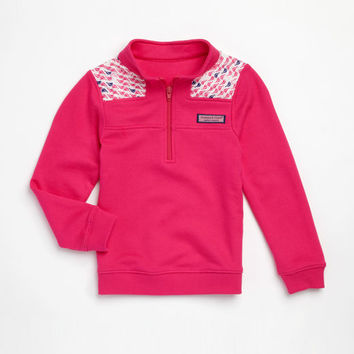 Girls Sailboat Shep Shirt