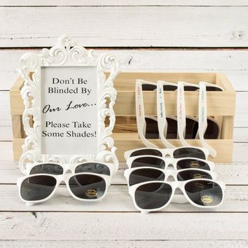 Personalized Plastic Sunglasses, Personalized Glasses, Plastic Sunglasses, Personalized Sunglass
