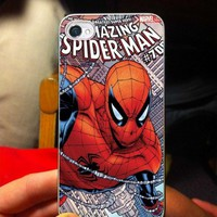 The Amazing Spiderman - OC - iPhone 5 case Black/White Case