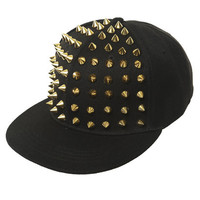 Studded Baseball Hat | Shop Pop Goth at Wet Seal