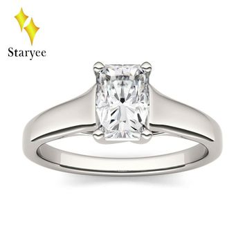 Best Moissanite Solitaire Ring Products on Wanelo