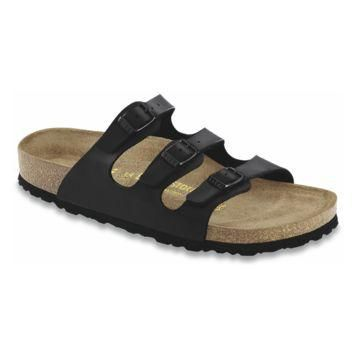 Birkenstock Classic, Florida, Soft Footbed, Birko-Flor, Regular Fit, Black