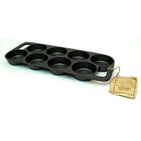 Old Mountain Cast Iron Preseasoned 8 Impression Biscuit Pan