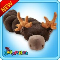 bodypillars :: Chocolate Moose BodyPillar - My Pillow Pets® | The Official Home of Pillow Pets®