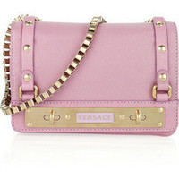 Versace | Leather shoulder bag | NET-A-PORTER.COM