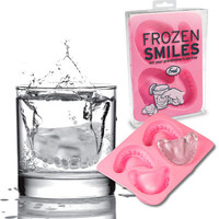 Frozen Smiles = Denture Ice Cubes | OhGizmo!
