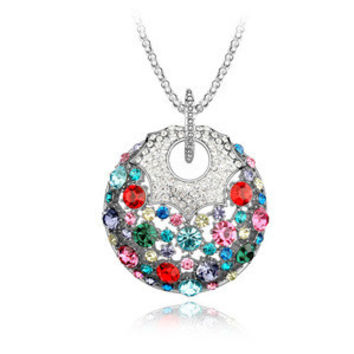 Stylish Jewelry New Arrival Gift Shiny Crystal Sweater Chain Luxury Necklace [9819389199]