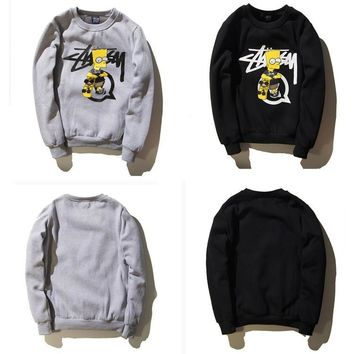 Men's Fashion Winter Long Sleeve Cartoons Print Hoodies [9436860487]