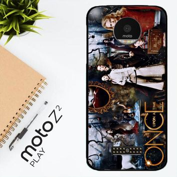 Once Upon A Time Wallpaper Y0852 Motorola Moto Z2 Play Case